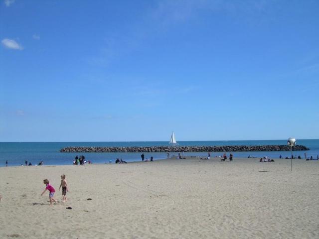 вид на пляж в Агд