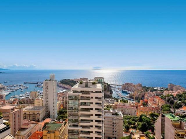 Апартамент с панорамным видом в Монако