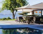 Современная вилла c бассейном на берегу Женевского озера