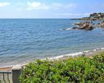 Вид на море с территории виллы