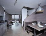 квартиры в комплексе в шамони, кухня, меблировка кухни