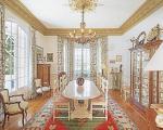 Меблировка столовой в вилле в Ницце